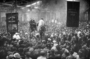 Putilov workers 1917